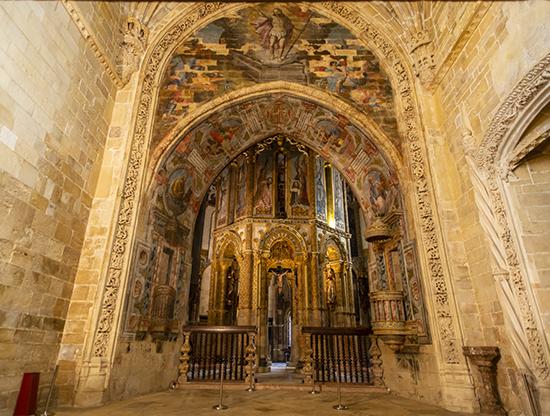 Capilla Mayor. Convento de Cristo.