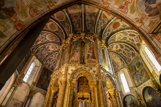 Charola. Convento de Cristo