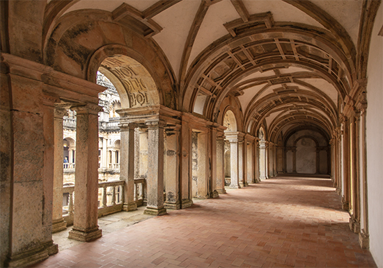 claustro principal. convento de cristo