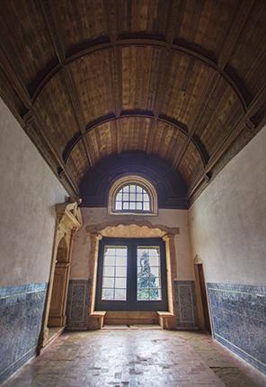 pasillos convento de cristo