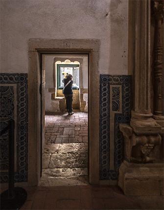 corredor de las celdas convento de cristo