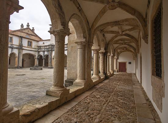claustro convento de cristo