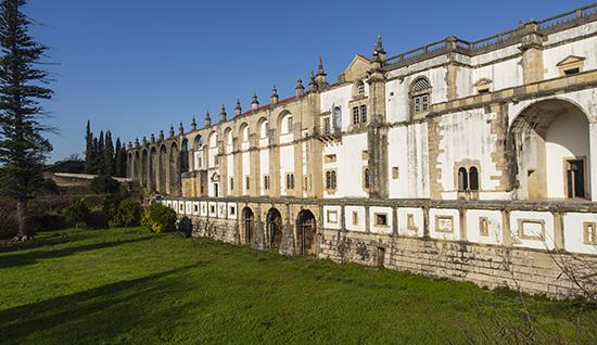 llegada acueducto a convento Tomar