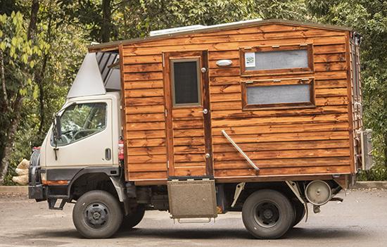 Camion casa