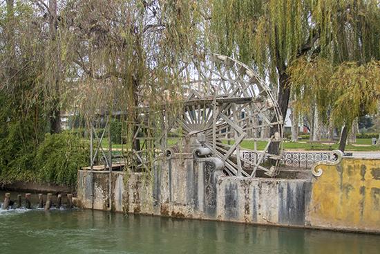 Molino de agua río Nabao