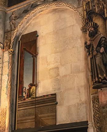 Retablo. Charola. Convento de Cristo