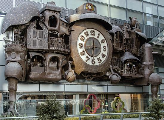 reloj Ghibli Japón Tokio