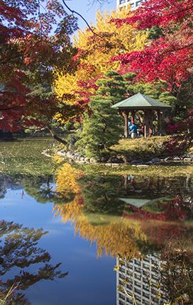 Hibiya park Tokio Japón