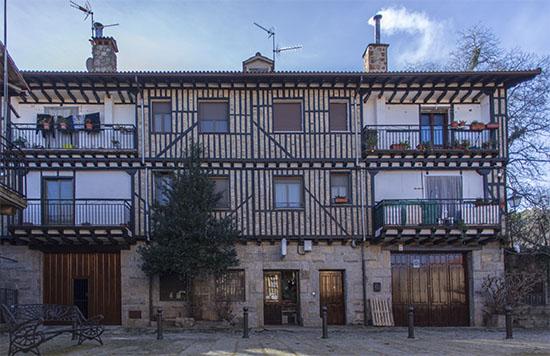 Casas de La Alberca