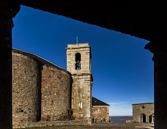 torre de la hospederia Peña de Francia