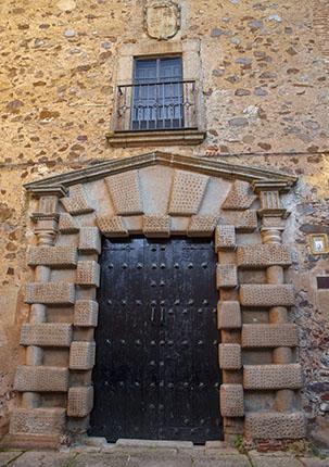 Palacio de los Condes de Adanero. Cáceres