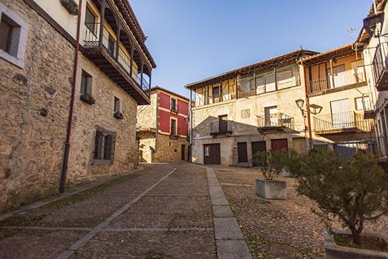 Plaza ayuntamiento Miranda del Castañar