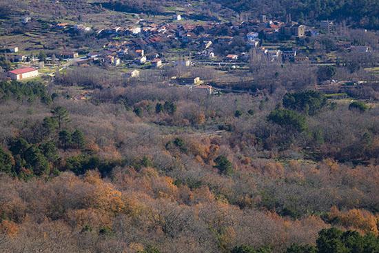 Vistas de la comarca de La Sierra de Francia