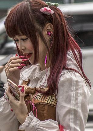 Chica en Tokio