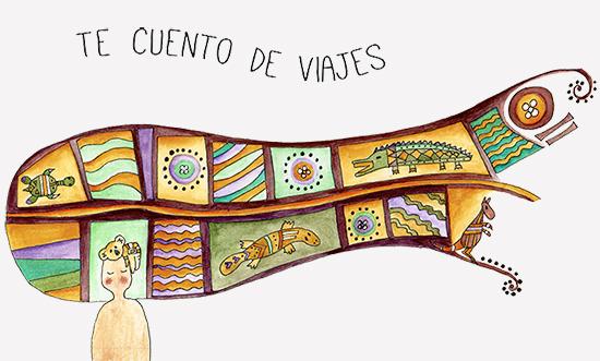 Ilustraciones acuarela Te cuento de viajes , blog de viajes y pequeñas historias