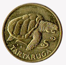 fauna marina monedas