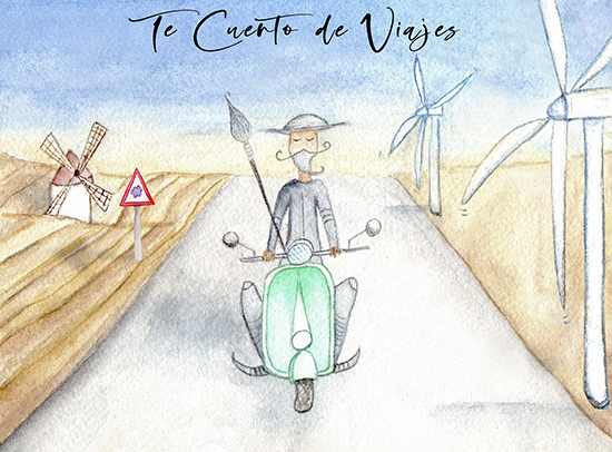 Ilustraciones viajes CVT Don Quijote