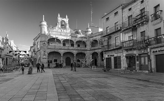 Plaza Mayor Ciudad Rodrigo, Salamanca