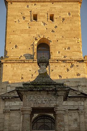 curiosidades fachada Catedral Santa María, Ciudad Rodrigo, Salamanca