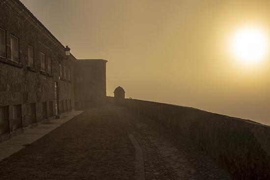 amanecer en Ciudad Rodrigo, Salamanca