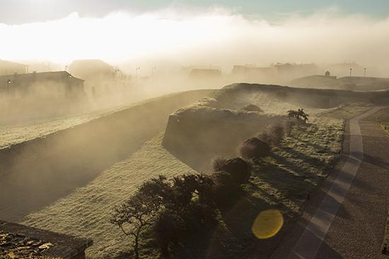 Ciudad Rodrigo niebla. Visitar Salamanca provincia