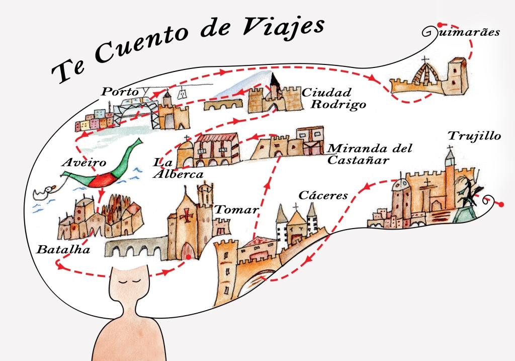 Ilustraciones Te cuento de viajes