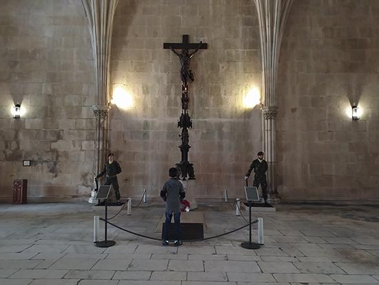cambio de guardia monasterio de Batalha