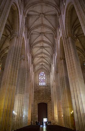 Interior monasterio de Batalha