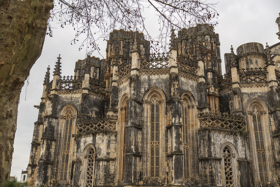 Capillas imperfectas monasterio de Batahla