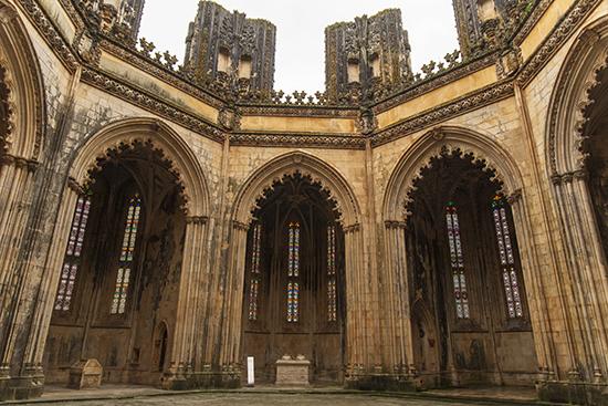 capillas inacabadas monasterio de Batalha