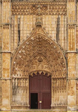 Pórtico monasterio de Batalha