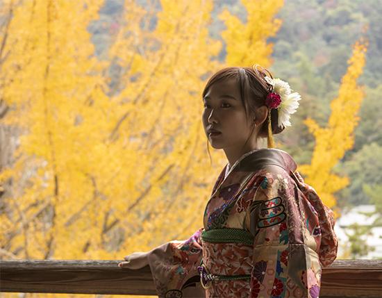 kimonos en Japón