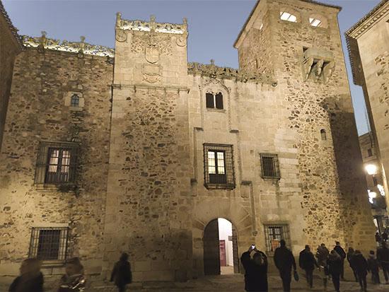 Palacio de los Golfines. Cáceres
